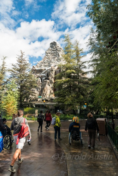 Matterhorn Mountain ride.